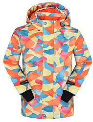 abordables -Phibee Chico Chaqueta de Esquí Templado, Secado rápido, Mantiene abrigado Esquí / Deportes de Invierno / Deportes de Nieve Ecológico