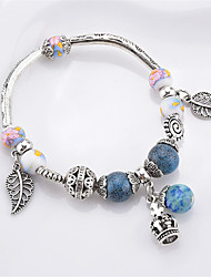 cheap -Women's Charm Bracelet Multi-stone Sweet Lovely Fashion China Resin Alloy Leaf Geometric Jewelry For Daily