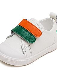 Para Meninos sapatos Pele Inverno Outono Conforto Primeiros Passos Tênis para Casual Preto Verde Azul