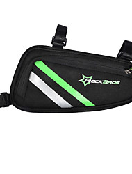 cheap -Bike Bag Bike Frame Bag Easy to Install Lightweight Bicycle Bag Nylon Cycle Bag Cycling Cycling