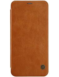 economico -Custodia Per OnePlus OnePlus 5T 5 Porta-carte di credito Con chiusura magnetica Auto sospendione/riattivazione Integrale Tinta unica