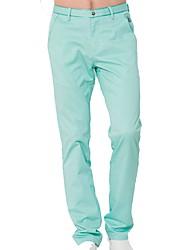 Per uomo Pantalone lungo Golf Pantalone/Sovrapantaloni Allenamento Traspirabilità Golf