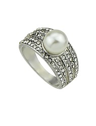 cheap -Women's Knuckle Ring Imitation Pearl Vintage Basic Fashion Imitation Pearl Alloy Geometric Jewelry Daily Date