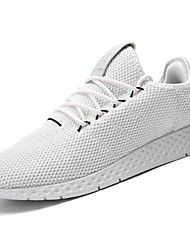 Недорогие -Муж. обувь Резина Весна / Осень Удобная обувь Спортивная обувь Для прогулок Ботинки Белый / Черный / Серый
