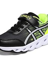 economico -Da ragazzo Scarpe Tulle Inverno Autunno Comoda scarpe da ginnastica Corsa Nastro a strappo per Casual Nero Blu Rosa
