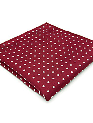 cheap -Men's Silk Cravat & Ascot,Vintage Cute Party Work Casual Dots All Seasons Red