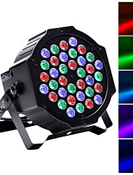 cheap -U'King LED Stage Light / Spot Light LED Par Lights DMX 512 Master-Slave Sound-Activated Auto 36 for Club Wedding Stage Party Professional