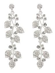 cheap -Women's Drop Earrings Classic Elegant Imitation Diamond Alloy Jewelry Wedding Party