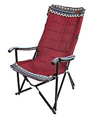 abordables -Sille plegable para camping Doblez Aleación de acero para Camping