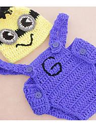bébé Ensemble de Vêtements Garçon Vacances Arc-en-ciel Nylon Eté Sans Manches Mignon Bleu