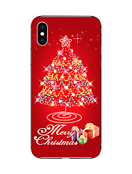 cheap -Christmas Tree TPU Soft Case Cover for iPhone 7 7 Plus iPhone 6 6 Plus iPhone 5 5C  iPhone 4