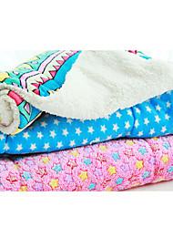 preiswerte -Katze Hund Betten Haustiere Decken Geometrisch Sterne Grau Rot Blau Rosa Regenbogen Für Haustiere
