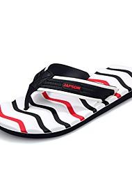 cheap -Men's Shoes EVA Spring Summer Light Soles Slippers & Flip-Flops Null Side-Draped for Casual Black/Green Black/Red Black