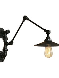 cheap -Mini Style Retro/Vintage Country Traditional/Classic Swing Arm Lights For Living Room Shops/Cafes Metal Wall Light 220-240V 110-120V