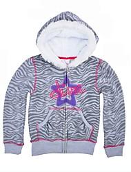 cheap -Girls' Causal Daily Animal Print Jacket & CoatCotton Long Sleeves Casual Active Gray