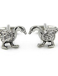 cheap -Geometric Silver Cufflinks Alloy Fashion Lovely Gift Office & Career Men's Costume Jewelry