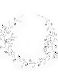 cheap -Crystal Rhinestone Headbands 1pc Headpiece