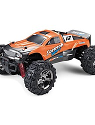 abordables -Coche de radiocontrol  1510B 2.4G Off Road Car 1:24 40 KM / H