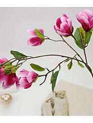 1 Větev Umělá hmota Orchidej Květina na stůl Umělé květiny