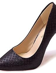 economico -Per donna Scarpe PU (Poliuretano) Inverno Autunno Comoda Decolleté Tacchi A stiletto Appuntite per Casual Oro Nero Argento