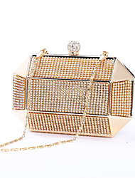 cheap -Women Bags Metal Evening Bag Buttons for Event/Party All Season Gold