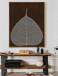 abordables -A fleurs/Botanique Peinture a l'huile Art mural,Alliage Matériel Avec Cadre For Décoration d'intérieur Cadre Art Cuisine Salle à manger