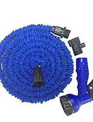 Недорогие -садовый водяной шланг с распылительной насадкой расширяющийся гибкий водяной пистолет автомойка с насадкой