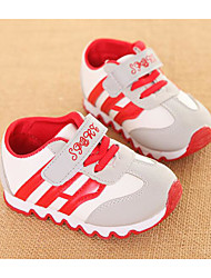 abordables -Garçon Chaussures Polyuréthane Automne / Hiver Confort Basket pour Noir / Jaune / Rouge