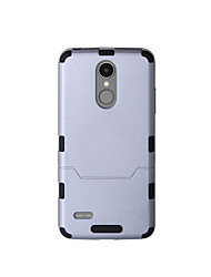 cheap -Case For LG K8 (2017) K10 (2017) Shockproof Full Body Solid Color Hard TPU for LG K10 (2017) LG K10 LG K8 (2017)