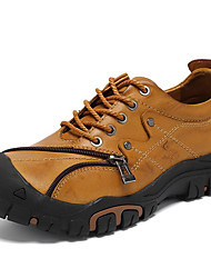 Masculino sapatos Pele Napa Inverno Outono Sapatos formais Oxfords para Casual Festas & Noite Marron