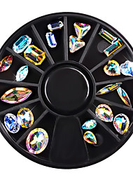 Недорогие -Гель для ногтей Мода Высокое качество Повседневные Бижутерия