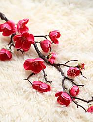 Недорогие -Искусственные Цветы 1 Филиал Современный современный слива Букеты на стол