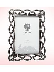 Недорогие -Не персонализированные Металлические Фото рамки Для нее Невеста Свидетельница Пара Родители Друзья Свадьба Поздравления