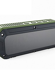 cheap -CRDC Bluetooth Speaker Bluetooth 4.0 3.5mm AUX Outdoor Speaker Black Green