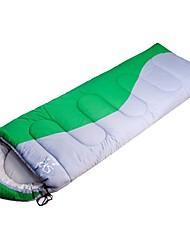 Недорогие -Спальный мешок на открытом воздухе Прямоугольный 5 °C Односпальный комплект (Ш 150 x Д 200 см) Пористый хлопок С защитой от ветра Сохраняет тепло Износостойкость Осень Зима для / Отдых и Туризм