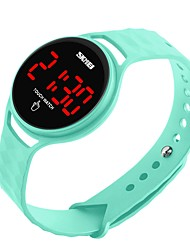cheap -SKMEI Couple's Digital Sport Watch Chinese Calendar / date / day Water Resistant / Water Proof Casual Watch Noctilucent PU Band Luxury