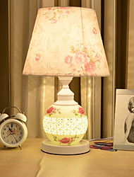 Luz Descendente Retro / Vintage Luminária de Mesa Proteção para os Olhos Interruptor On/Off Alimentação AC 220V Amarelo Escuro Roxo Claro