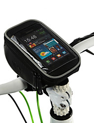 preiswerte -ROSWHEEL Fahrradlenkertasche Handy-Tasche 5.0 Zoll Touchscreen Multifunktions Radsport für Samsung Galaxy S6 iPhone 5c iPhone 4/4S LG G3