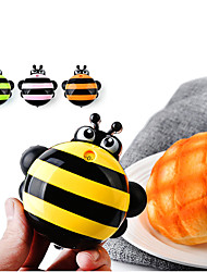 cheap -Kitchen Mini With Magnet Bee Alarm Clock Lovely Home Timer Cooking Tools 9.2*8.8cm