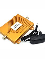 preiswerte -mini gsm 900 mhz 2g 3g w-cdma 2100 mhz dual band handy signal booster umts signal repeater mit stromversorgung / golden