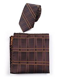 billige -Herre Afslappet Slips - Polyester Stribet