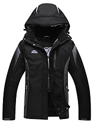 cheap -Men's Ski Jacket Thermal / Warm Windproof Skiing Ski/Snowboarding Polyester