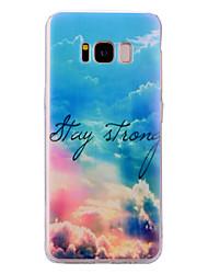 preiswerte -Hülle Für Samsung Galaxy S8 Plus S8 Durchscheinend Muster Rückseite Himmel Weich TPU für S8 Plus S8 S7 edge S7 S6 edge S6