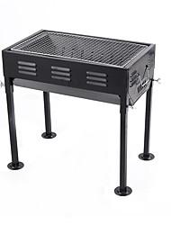 economico -Fornacella da campeggio Fornello da campeggio Attrezzi cucina all'aperto Isolamento termico Indossabile Acciaio inossidabile metallo per
