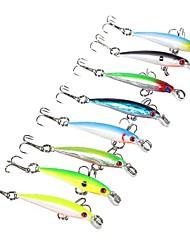 """preiswerte -8 Stück Fischen-Werkzeuge kleiner Fisch Harte Fischköder g / Unze, 50 mm / 2-1/8"""" Zoll, Kunststoff Seefischerei Bootsangeln /"""