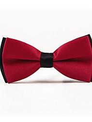 baratos -Homens Simples Casual Gravata Borboleta Côr Sólida