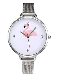 cheap -Women's Quartz Wrist Watch Chinese Chronograph Casual Watch Alloy Band Casual Unique Creative Watch Minimalist Elegant Fashion Christmas