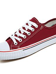 abordables -Homme Chaussures Polyuréthane Printemps Automne Confort Basket pour De plein air Noir Jaune Rouge Vert Bleu