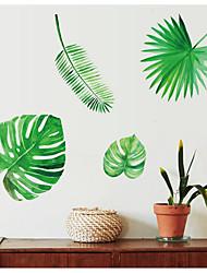 Недорогие -ботанический Наклейки Простые наклейки Декоративные наклейки на стены,Бумага Украшение дома Наклейка на стену For Холодильник