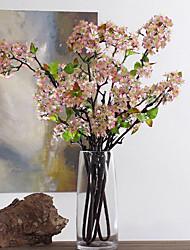 Недорогие -1 Филиал Полиэстер Другое Букеты на стол Искусственные Цветы